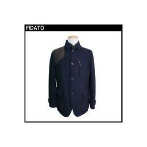 FIDATO メンズ ウール混ツィードハンタージャケット|fuerzajapan