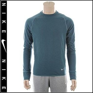 【Nike RUNNING】ナイキ FEATHER FLEECE CREW DRI-FIT フェザーフリース クルートップ|fuerzajapan