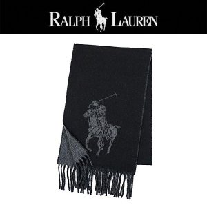 Ralph Lauren BIG PONY JACQUARD SCARF マフラー fuerzajapan