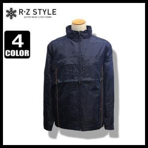 R・Z Style Active Wear 裏メッシュ ジャケット 収納可能フード付 花粉防止|fuerzajapan