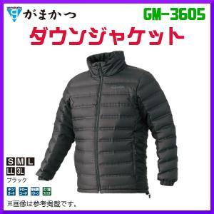 ( 先行予約 )  がまかつ  ダウンジャケット  GM-3605  ブラック  L  ( 2019年 10月新製品 ) fuga0223
