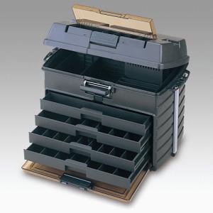 ( 納期未定 H30.1 ) 明邦   VS-8050  スモークBK  タックルボックス|fuga0223