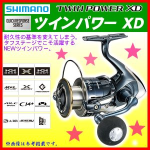 シマノ 17 ツインパワー XD 4000XG ...の商品画像