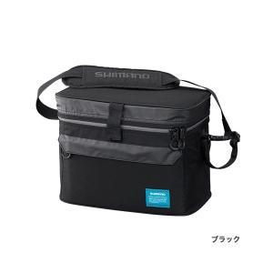 ≪'17年3月新商品!≫ シマノ タックルクッションバッグ BA-038Q ブラック 28L|fugashop2