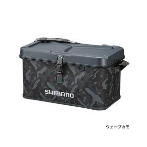 ≪'17年3月新商品!≫ シマノ EVA タックルバッグ(ハードタイプ) BK-002Q ウェーブカモ 22L|fugashop2