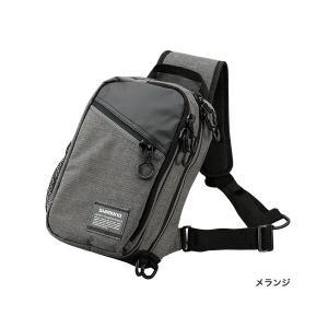 ≪'17年3月新商品!≫ シマノ スリング ショルダーバッグ BS-025Q メランジ Sサイズ|fugashop2