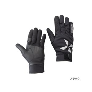 ≪'17年9月新商品!≫ シマノ XEFO・防水グローブ GL-299Q ブラック Lサイズ|fugashop2