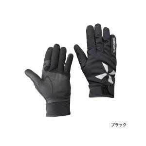 ≪'17年9月新商品!≫ シマノ XEFO・防水グローブ GL-299Q ブラック XLサイズ|fugashop2