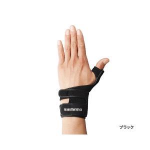 ≪'17年9月新商品!≫ シマノ リストサポートグローブ(左手) GL-05LQ ブラック Mサイズ [9月発売予定/ご予約受付中]|fugashop2