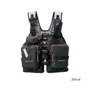 ≪'18年9月新商品!≫ シマノ XEFO ゲームベスト VF-278R ブラック フリーサイズ|fugashop2