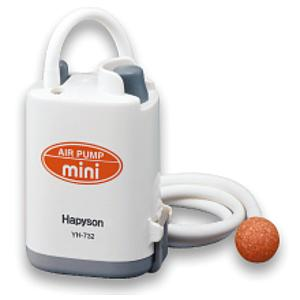 ハピソン  乾電池式エアーポンプミニ YH-732P (単3電池2個用) fugashop2