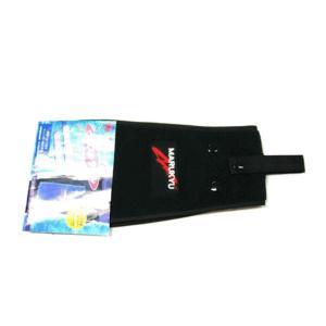 マルキュー 装着ベルト付き フィンガー用タオル(ウエストタオル) 黒|fugashop2