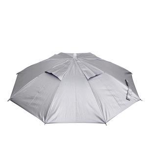 ≪新商品!≫ OGK かさ帽子 (UVコート) シルバー フリーサイズ|fugashop2