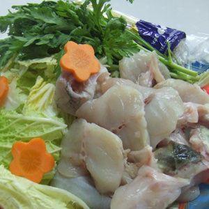 【愛知県産】天然とらふぐ鍋セット(3〜4人前)|fugu