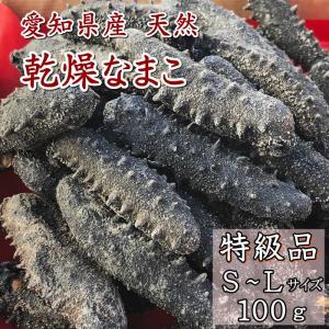 乾燥なまこ 干しなまこ100g(特級) 愛知県産|fugu