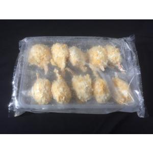 カニ爪 クリームフライ 40g 10個 業務用 冷凍 揚げ物 惣菜 蟹 かに 7001906800|fuji-s