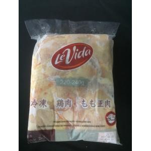 冷凍 鶏もも正肉 2kg 220g〜240gサイズ 業務用 とり 鳥肉 しょうにく 唐揚げ 炒め物 加熱用 fuji-s