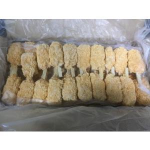 豚ロース玉葱串 40g×100本入 ぶた たまねぎ くし 揚げ物 おかず サイドメニュー おつまみ|fuji-s