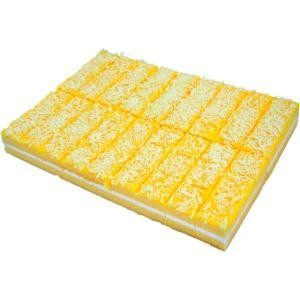 カットケーキ レモン 54カット入り れもん 檸檬 バレンタイン パーティー バイキング デザート スイーツ 7004200599|fuji-s