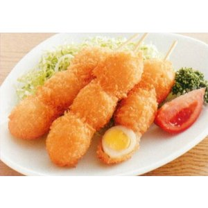 うずら串フライ 3個串 45g×20本入り 冷凍 業務用 たまご 惣菜 おつまみ お弁当|fuji-s