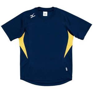 ドッジボール専用 ゲームシャツ ミズノ A62HY-144 ネイビー×イエロー MIZUNO JDBA|fuji-spo-big5