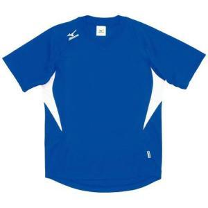 ドッジボール専用 ゲームシャツ ミズノ A62HY-144 ブルー×ホワイト MIZUNO JDBA|fuji-spo-big5