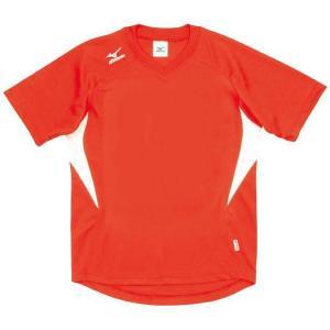 ドッジボール専用 ゲームシャツ ミズノ A62HY-144 オレンジ×ホワイト MIZUNO JDBA|fuji-spo-big5