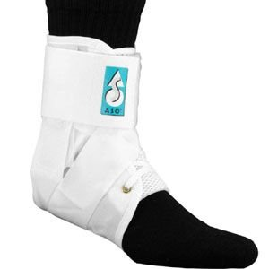 ASO スピードレーサー 足首サポーター 白(Ankle Stabilizing Orthosis)SPEED LACER fuji-spo-big5