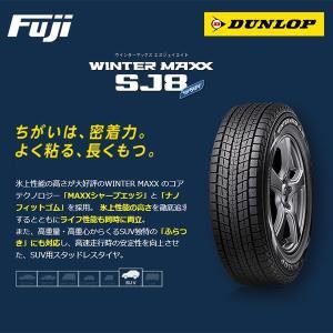 【要・納期確認】 DUNLOP ダンロップ ウィンターMAXX SJ8 225/60R18 100Q...