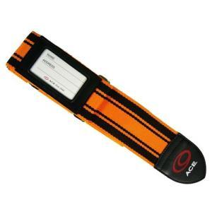 [タビトモ] スーツケースベルト 205 cm 32148 オレンジ|fujibeni