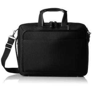 [エースジーン] ビジネスバッグ EVL3.0 3WAY 40cm A4 PC・タブレット収納 セットアップ エキスパンダブル ブラック|fujibeni