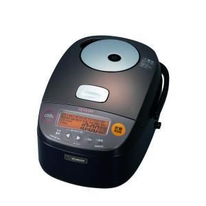 象印 炊飯器 圧力IH式 鉄器コート 5.5合炊き ダークブラウン NP-BG10-TD|fujibeni