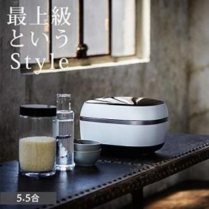 タイガー GRAND X 炊きたて 土鍋IH炊飯ジャー 5.5合 JPG-X100-WF|fujibeni