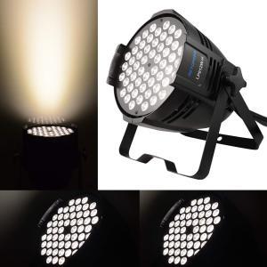 BETOPPER パーライト 舞台照明 ウォッシュライト ステージライト DJ ディスコライト 54X3W LED DMX512 音声起動 ムービングライト スポットライト ストロボ 照明|fujibeni