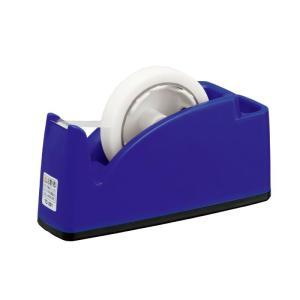 テープカッター 太巻・小巻兼用 ブルー ポケット付き 312...