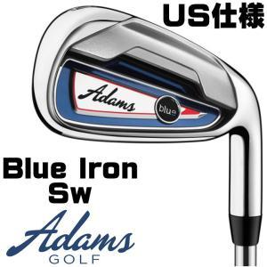 右用 アダムスゴルフ Blue アイアン 単品 Sw スチールシャフト ブルー US仕様