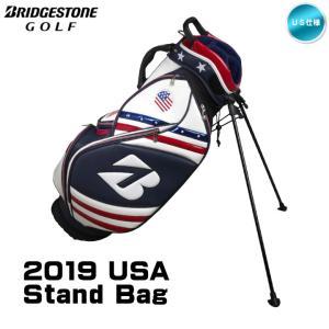 2019 ブリヂストン USA Stand Bag Limited Edition スタンド キャディバッグ 9.5型 US仕様「あすつく対応」|fujico
