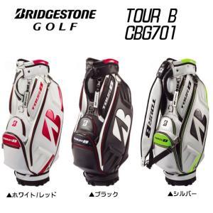 2017 ブリヂストン CBG701 TOUR B プロレプリカモデル キャディバッグ 9.5型 6分割 日本仕様|fujico