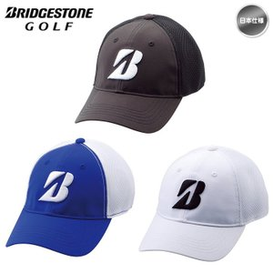 BRIDGESTONE ブリヂストン CPG811 TOUR B ハーフメッシュキャップ 帽子「メール便不可」「あすつく対応」|fujico