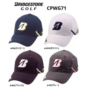 2017 BRIDGESTONE ブリヂストン プロモデル キャップ CPWG71 帽子 マーカー付【ゆうパケット不可】|fujico