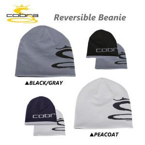 「帽子 ウェア メンズ」Cobra コブラ リバーシブル ビーニー キャップ 909018 USAモデル