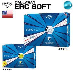 2019 キャロウェイ ERC ソフト ERC SOFT 1ダース ゴルフボール US仕様「メール便不可」「あすつく対応」|fujico