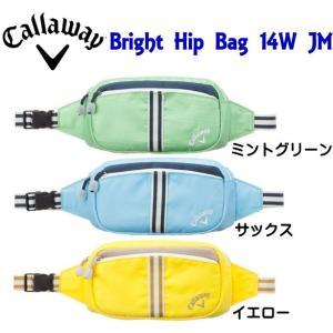 レディース キャロウェイ Bright Hip Bag 14W JM ヒップバッグ 日本仕様【ゆうパケット不可】 fujico