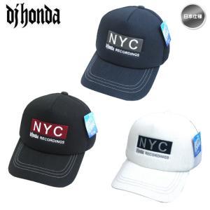 dj honda DJホンダ 19DJ-SIN-C06 NYC刺繍ロゴ メッシュ キャップ 帽子「メール便不可」「あすつく対応」|fujico