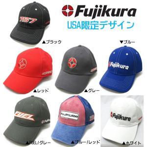 Fujikura フジクラ キャップ  US限定デザイン【ゆうパケット不可】|fujico