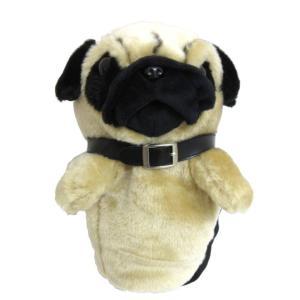ホクシン交易 パグ ヘッドカバー 1W ドライバー用 犬 可愛い 460cc対応 「あすつく対応」|fujico