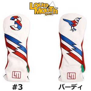 ラウドマウス LoudMouth FW用 レトロ ヘッドカバー キャプテンサンダーボルトUSA 【ゆうパケット(メール便)へ変更できます】|fujico