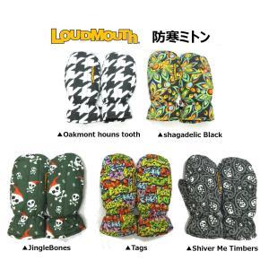 ラウドマウス 防寒ミトン 手袋 726-605 ハンドウォーマー【ゆうパケット不可】|fujico