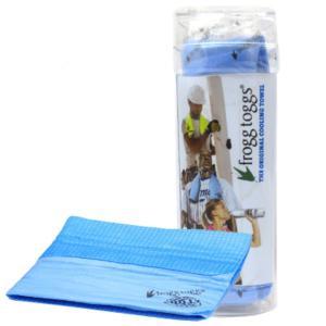 最新クールテクノロジー! 濡らすと冷たくなる不思議なタオル! 熱中症対策や節電対策にも!  大きめサ...