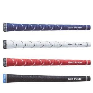 ゴルフプライド VDラバー VDR グリップ レッド/ブルー/ホワイト/ブラック ライン無し「メール...